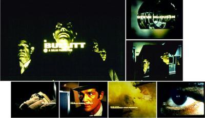 """""""Bullitt""""-Titelsequenz von Pablo Ferro"""