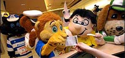 5th British Grand National Mascot race