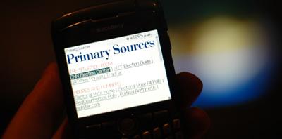 Primary Sources. Linkliste anlässlich der US-Präsidentschaftswahlen 2008