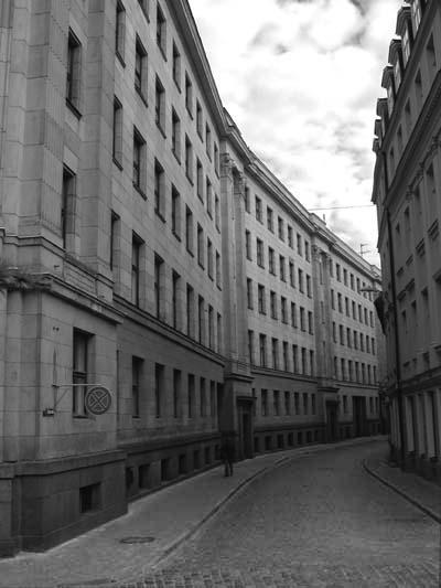 Riga für Frühaufsteher. Riga for the early bird.