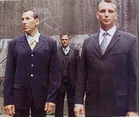 Barni Schill und seine Bodyguards
