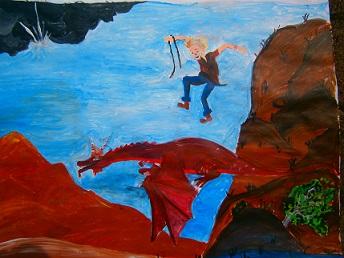 Den roten Drachen fangen