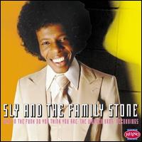 Who in the funk do you think you are: The Warner Bros. Recordings – Sly & The Family Stone