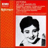 Victoria de los Ángeles - Sings Torina, Falla and Granados