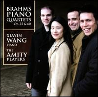 Xiayin Wang and the Amity Players - Brahms Piano Quartets Op 25 & 60