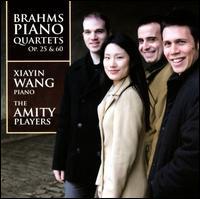 Xiayin Wang and the Amity Players - Brahms Piano Quartets Op 25 & 60