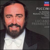 Luciano Pavarotti - Puccini (La Bohème, Madama Butterfly, Tosca, Turandot)