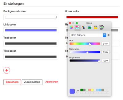 Screenshot Color Picker Antville 1.5