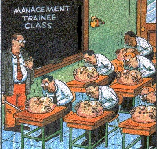 Карикатура: страна менеджеров, виктор диюкин