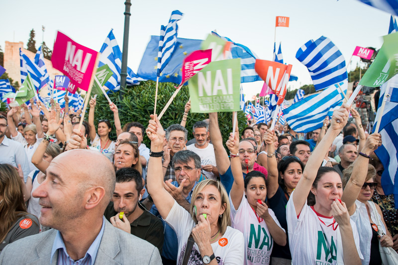 NAI Demo in Athen