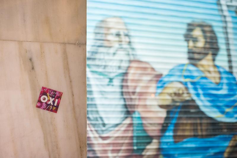 Aufruf der OXI-Anhänger