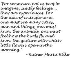 Rilke's Quote