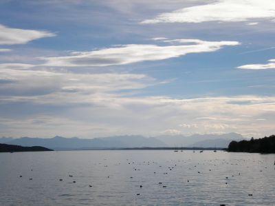 Starnberger See am 22.10.
