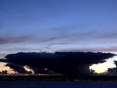 Waitemata Harbour - Auckland - New Zealand - 10 November 2014 - 19:29