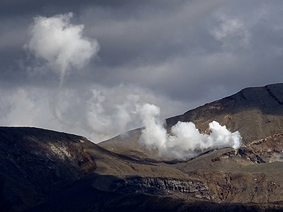 Mt Ngauruhoe - Tongariro National Park - New Zealand - 10 March 2015 - 15:40