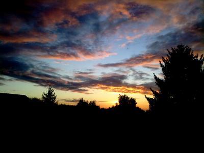 Sunset Cloudscape im Ruhrpott