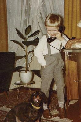 Der kleine Manno... an diesem Telefon fing alles an