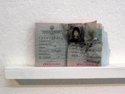 Aiofe van Linden Tol blasted my old and expired Yugoslavian ID card