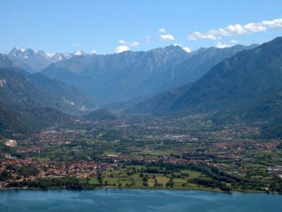 view on Valcamonica