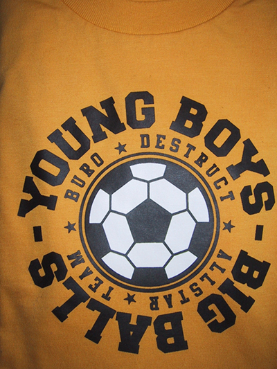 Young Boys - Big Balls!