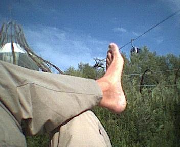 fauler  Ossi-Fuß