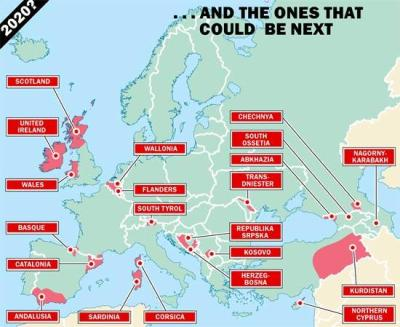 Europa se desmiembra