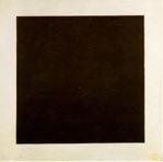 Kazimir Malevitch, Cuadrado negro sobre blanco