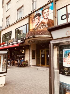 The most luxurious public cinema in Berlin, the Astor on Ku'damm