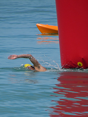 1st Fiji Open Water Swim 2011 Season - Natadola - Fiji Islands - 15 January 2011 - 10:02