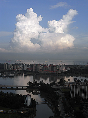 Kallang Basin - Singapore - 9 August 2009 - 17:56