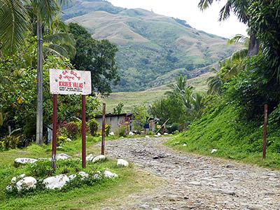 Korobebe Village - Sabeto Valley - Viti Levu - Fiji Islands - 7 October 2009 - 8:49