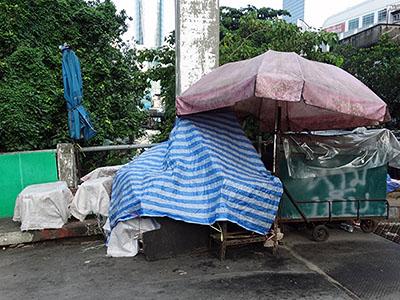 Soi Rajdamri 1 x Khlong San Saeb - Pathum Wan - Bangkok - 7 September 2013 - 7:11