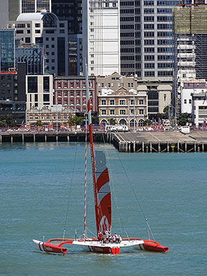 Downtown Harbour - Auckland - New Zealand - 11 October 2014 - 12:23