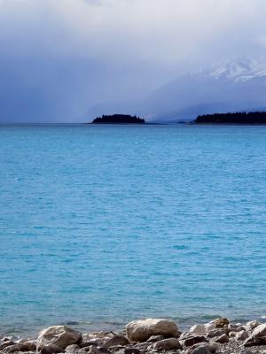 Lake Pukaki - New Zealand - 1 October 2015 - 15:48