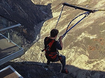 Nevis Swing - Gibbston - Otago - New Zealand - 2 October 2015