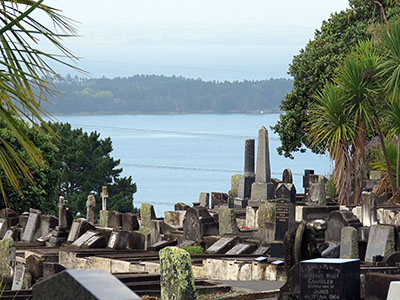 Hillsborough Cemetery - Clifton Road - Auckland - New Zealand - 19 February 2016 - 8:56