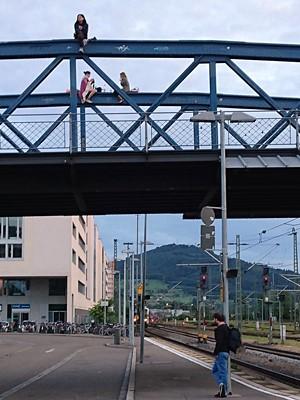 Wiwili Brücke - Freiburg - 23 July 2017 - 21:02