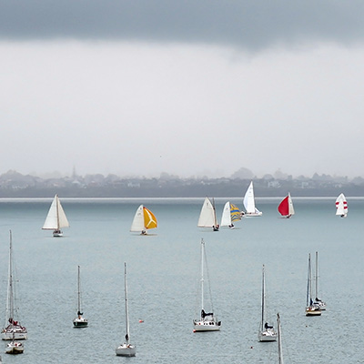 Waitemata Harbour - Auckland - New Zealand - 28 October 2017 - 12:09