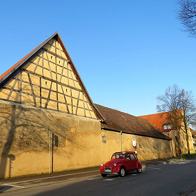 Freiburger Landstrasse - Freiburg-Tiengen - 16 April 2018 - 7:53