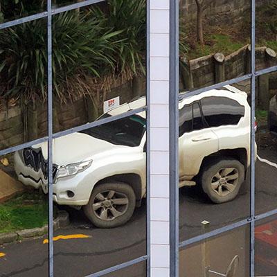 Hargreaves Street - Saint Mary's Bay - Auckland - New Zealand - 31 July 2018 - 08:15