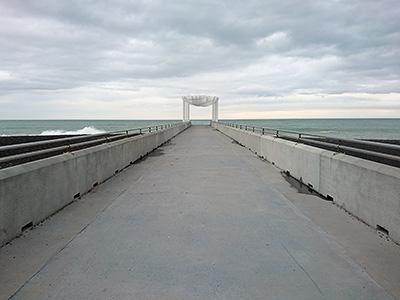 Marine Parade Viewing Platform - Napier - New Zealand - 8 August 2018 - 15:18