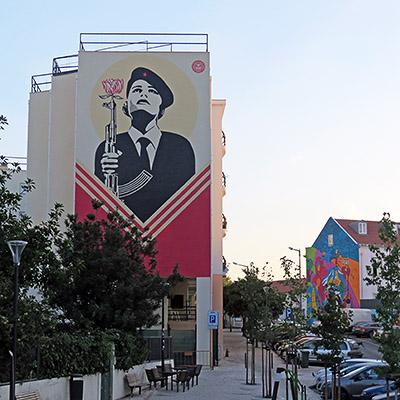 Rua Natalia Correia - Lisbon - 20 September 2018 - 7:57