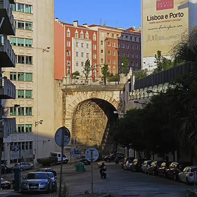 Rua de Santa Marta x Largo Andaluz - Lisbon - Portugal - 20 September 2018 - 8:31