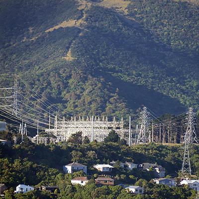 Wilton Substation - Wellington - New Zealand - 1 January 2019 - 18:56