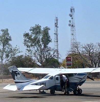 20190920 Victoria Falls International Airport