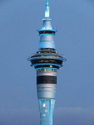 Skytower - Auckland - New Zealand - 31 December 2019 - 21:02