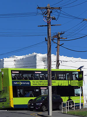 Washington Ave x Cleveland Street - Brooklyn - Wellington - New Zealand - 9 January 2020 - 16:52