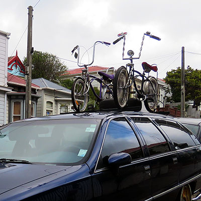 Wallace Street - Wellington - New Zealand - 12 January 2020 - 17:34