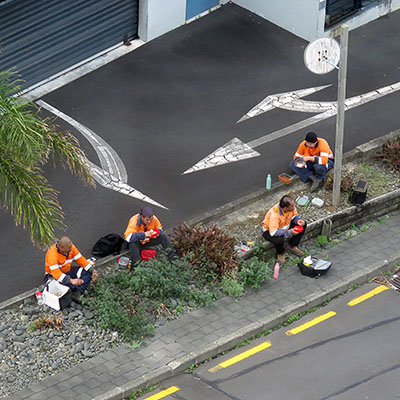 Hargreaves Street - Saint Mary's Bay - Auckland - New Zealand - 30 April 2020 - 10:04