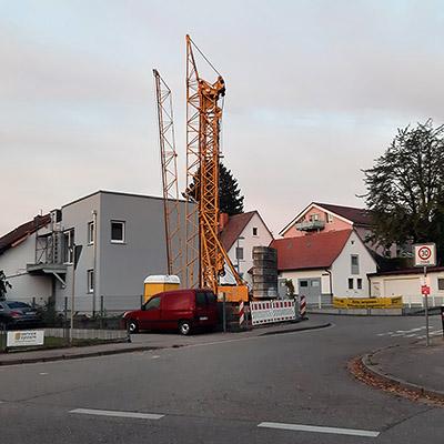 Vogteistrasse x Alte Breisacher Strasse - Freiburg-Tiengen - 20 October 2020 - 08:01